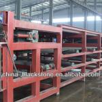 continuous horizontal vacuum belt filter for mine-