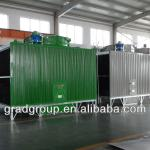 FRP square cross flow cooling tower-