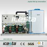 (10000kgs/24hrs) ICESTA Heavy-Duty Flake Ice Making Machine-