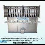 3Tons/day (6614lb) Commercial Cube Ice Machine With Packing System (CV3000)-
