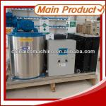 Chemical processing flake ice machine-