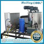 Marine water flake ice machine 1000kg/day for drinking-