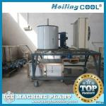 Marine water flake ice machine 1500kg/day for baverage-