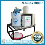 Marine flake ice machine 1ton/day for fish processing-