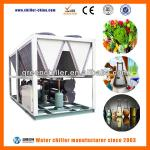 109kW Shandong Air Cooled Water Screw Chiller Machinery