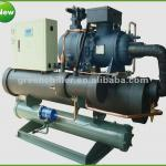 2012 new design high efficient water cooled screw chiller( Bitzer chiller compressor)-