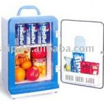 2010 new intelligent mini car fridge ,mini freezer ,cooler&warmer box-