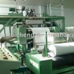 Nonwoven machine melt-blown nonwoven production line-