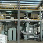 AL-1600/2400/3200 nonwoven fabric production line-