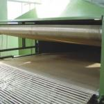 Hard cotton, non-glue cotton fabric production line-