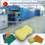 abrasive cleaning scouring pad machine-
