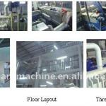 2012 NEW PP NONWOVEN FABRIC PRODUCTION LINE-