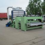 Non-woven felt making machine for padding-