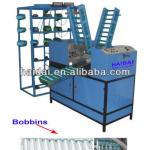 2 heads automatic bobbin winder for braiding-