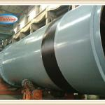 Sludge rotary drum dryer in Asia for sale