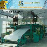20 Years Factory made complete sets toilet paper making machine price