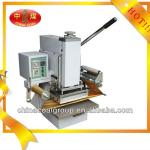 Manual hot stamping ,gilding press machine for paper, t-shirt
