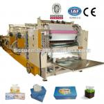 Automatic high speed facial tissue paper machine
