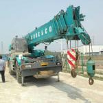 used rough terrain crane KOBELCO RK500 for sale-