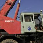 original japan crane 25t kobelco , rough terrain crane 25t-