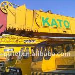 used KATO truck crane 50t NK500E right hand drive-