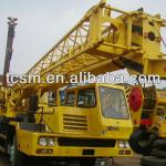 original Japanese used mobile truck cranes XCMG QY25E are exported from shanghai china-