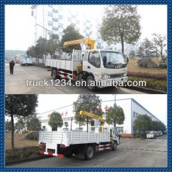 2013 New JAC low price truck crane