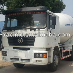 SHACMAN D'long 10CBM concrete mixer truck