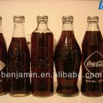 glass bottle soft drinks filling and packing machine-