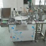Automatic marker pen filling and capping machine-