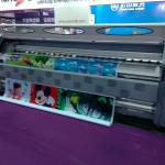 3.2m pvc flex banner printer machine with SPT510 head-