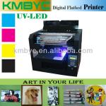 6 colors white ink A3 size LED UV flatbed printer-