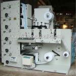 Five colors adhesive label flexographic printing machine-