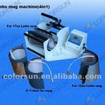 Multifunction combo mug press machine(4in1)-