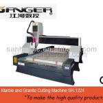 Marble and Granite Cutting Machine SH-1224ATC router cnc-