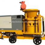 Dry mix concrete shotcrete machine