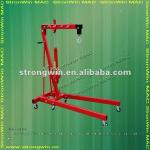 promotion small mini 2 ton foldable shop crane