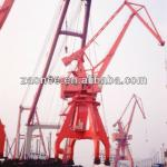 Best quality mulifunctional portal crane with grab/hook