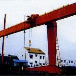 Electric Single Girder Gantry Crane 20ton with Electric Hoist