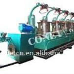 Straight line type continuous wire drawing machine-