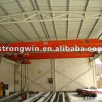 promotion Electric hoist workshop single beam bridge crane hometown-