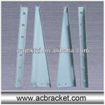 spray powder coating air conditioner wall support bracket-