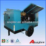 Diesel portable air compressor for sand blasting(road construction,painting)-