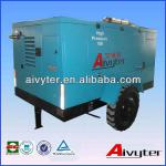 Trailer Mounted Diesel Screw Air Compressor Price for Drilling rig-