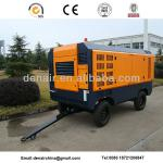 diesel portable screw air compressor-