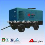 Skid Mounted Diesel High Pressure Air Compressor for Power Plant (Digging)-
