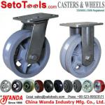 V groove casters wheels-