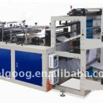 Plastic glove making machine-