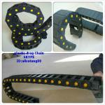 reinforced nylon cable energy chain (inside diameter of 35*125)-