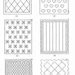 Computerized Single Needle Quilting Machine Patterns-